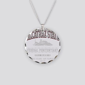 ALCATRAZ_STATE_lcp Necklace Circle Charm