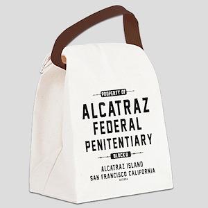 ALCATRAZ_cp Canvas Lunch Bag