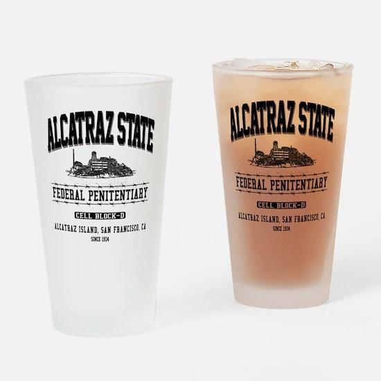 ALCATRAZ_STATE_dcp Drinking Glass
