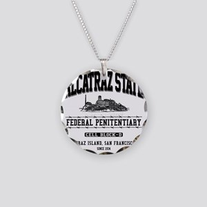 ALCATRAZ_STATE_dcp Necklace Circle Charm
