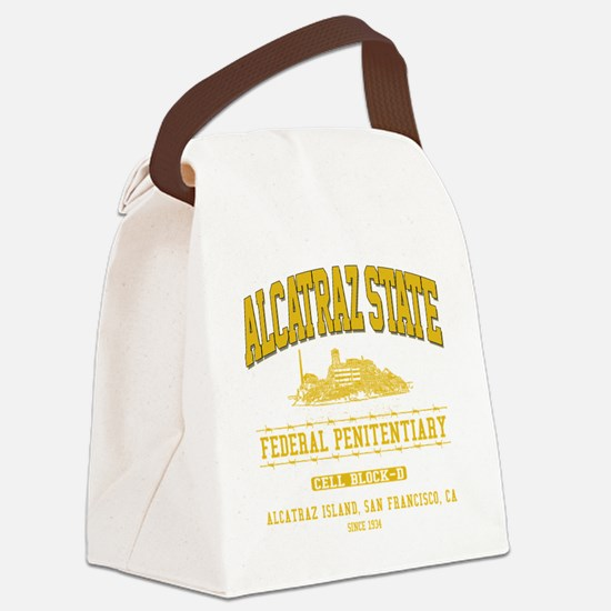 ALCATRAZ_STATE_ycp Canvas Lunch Bag
