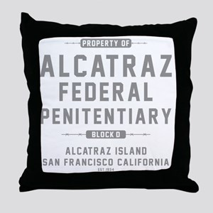 ALCATRAZ_gcp Throw Pillow
