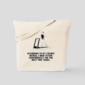 Caloric Intake Tote Bag