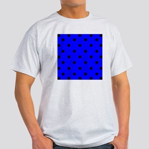 showercurtainbluepolkadot Light T-Shirt