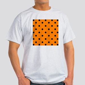 showercurtainorangepolkadot Light T-Shirt