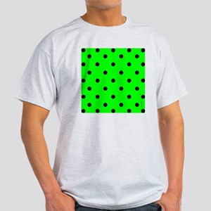 showercurtaingrnpolkadot Light T-Shirt