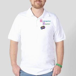 Kindergarten Teacher Golf Shirt