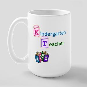 Kindergarten Teacher Large Mug