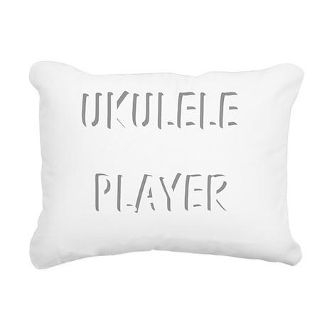 uke stringed ukulele mus Rectangular Canvas Pillow