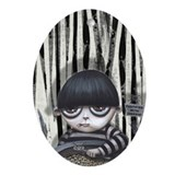 Addams family Oval Ornaments