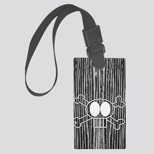 skullcrossbones itouch4 Large Luggage Tag