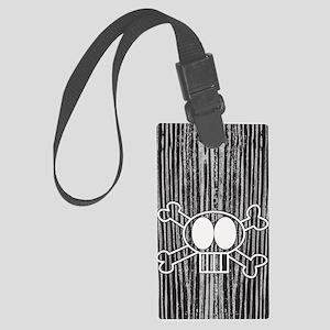 skullcrossbones itouch4 Large Luggage Tag