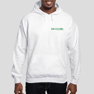 Kayaking Makes Me Happy Hooded Sweatshirt