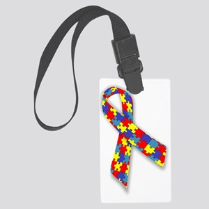 Autism Awareness Large Luggage Tag