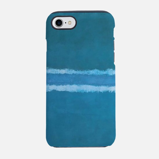 ROTHKO_SHADES OF BLUE iPhone 7 Tough Case