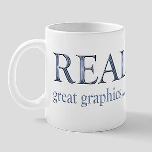real_life copy Mug