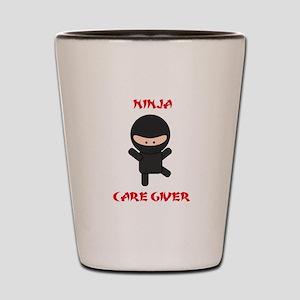 Ninja Caregiver Shot Glass