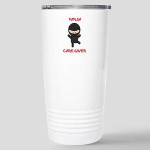 Ninja Caregiver Stainless Steel Travel Mug