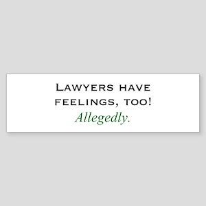Lawyers Bumper Sticker