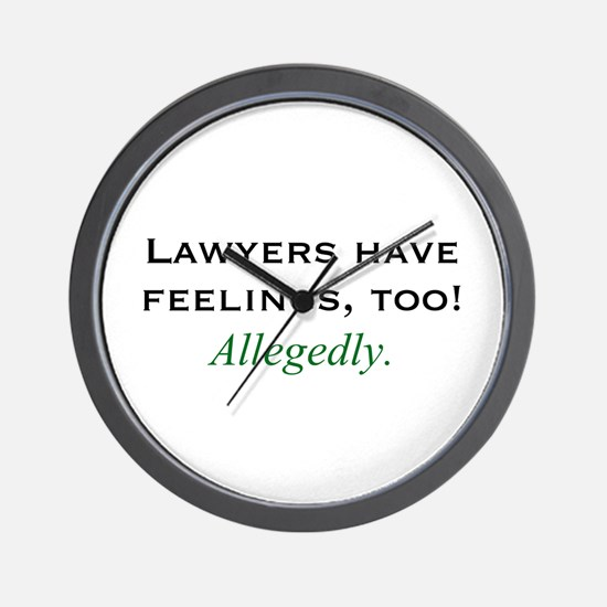 Lawyers Wall Clock