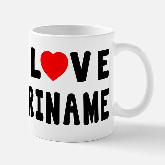 I Love Suriname Mug