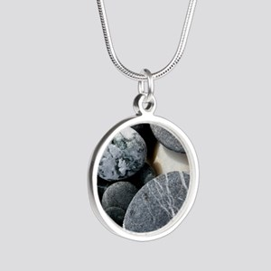 ipadrocks2 Silver Round Necklace
