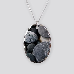ipadrocks2 Necklace Oval Charm