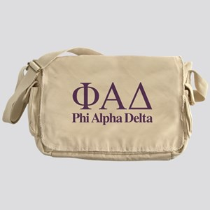 Phi Alpha Delta Messenger Bag