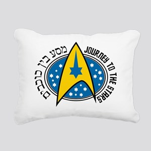 Jewish Trekkie T-Sh... Rectangular Canvas Pillow