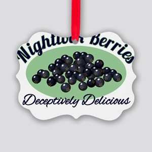 Nightlock-Berries Picture Ornament