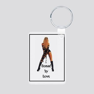 bondage bound by love stra Aluminum Photo Keychain
