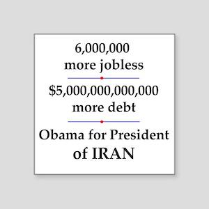 "iranpresident Square Sticker 3"" x 3"""