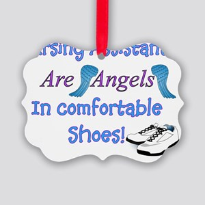 Nursing assistants angel in Comfy Picture Ornament