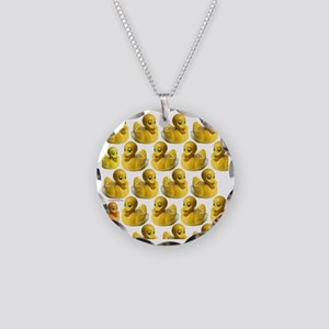 duckies-shower-curtain Necklace Circle Charm
