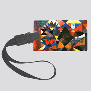 Klee: The Light and So Much Else Large Luggage Tag