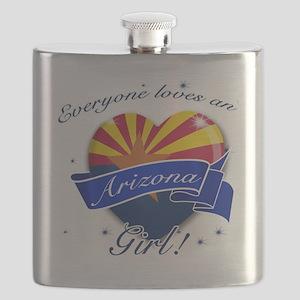 arizona. girl  Flask