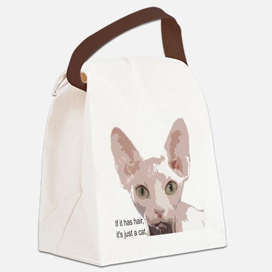 itishashair Canvas Lunch Bag
