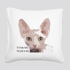itishashair Square Canvas Pillow