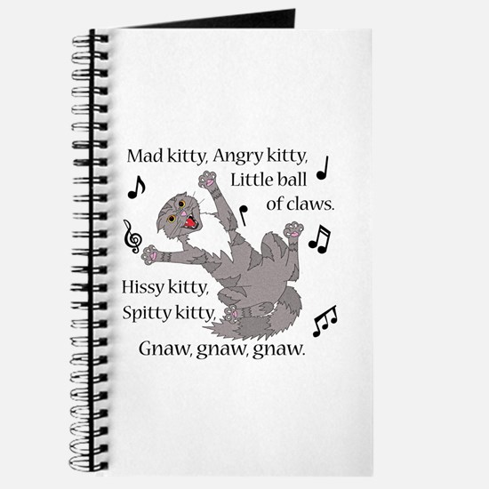 Mad Kitty Angry Kitty Journal
