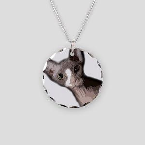 sabrina2 Necklace Circle Charm