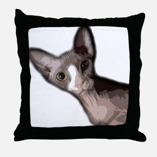 sabrina2 Throw Pillow