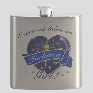 indiana girl Flask