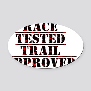 RaceTested-TS Oval Car Magnet