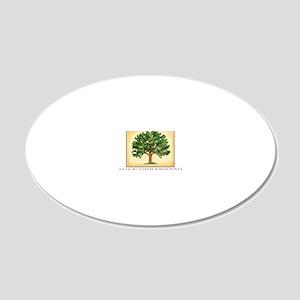 TreeReunion2012A 20x12 Oval Wall Decal