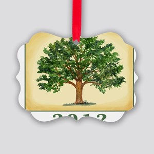 TreeReunion2012Shirt Picture Ornament