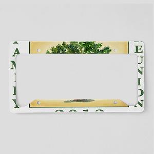 TreeReunion2012Shirt License Plate Holder
