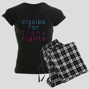 cissiesfortransequality Women's Dark Pajamas