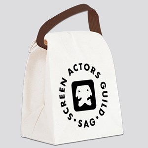 SAG-Logo Canvas Lunch Bag