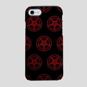 Satanic Pentagrams iPhone 7 Tough Case