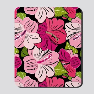 Pink Hibiscus Kindle Cover Mousepad